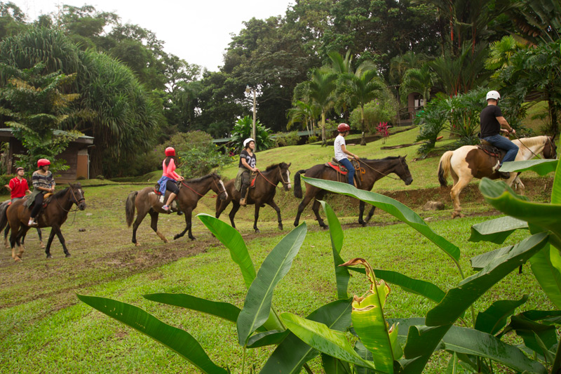 Horseback Riding at Chachagua Costa Rica Eco Lodge
